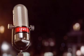 Live Mikrophone