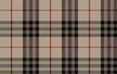 Scottish woolen fabric. Tartan. Traditional checkered fabric. Pattern for fashionable costume fabric.