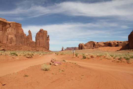 Views on Monument Valley, Utah and Arizona, USA