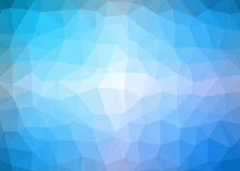Low Poly abstract background with colorful triangular polygons