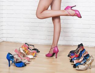 Ласки женских ног видео