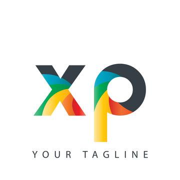 Initial Letter XP Design Logo