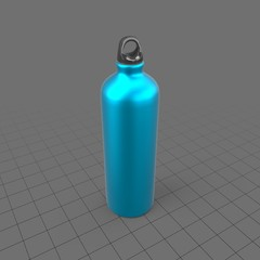 Metal water bottle 2
