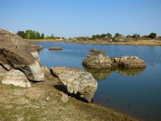 Los Barruecos. Paraje natural en Malpartida de Cáceres ( Cáceres, Extremadura,España)  Localizacion de Juego de Tronos