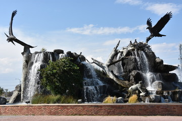 Giant Eagle Waterfall Nest in Idaho Falls, Idaho