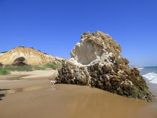 Mazagón, zona costera perteneciente a los municipios de Moguer y Palos de la Frontera en la provincia de Huelva, Andalucía, España