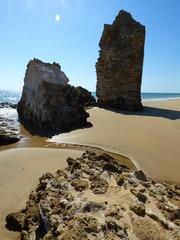 Playa de Mazagon en Huelva (Andalucia,España)