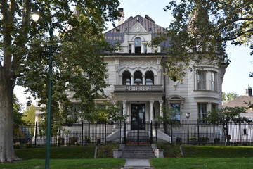The Utah Governor's Mansion in Salt Lake City, Utah
