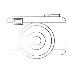 Photographic camera symbol icon vector illustration graphic design