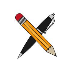 Pencil and mug design