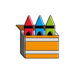 Crayon box design