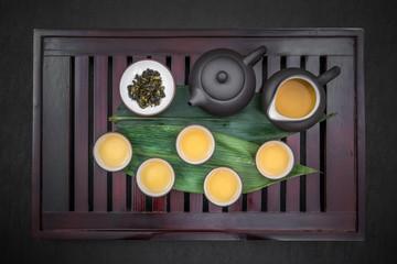 滋養と健康の中国茶 Chinese tea set of beauty and health