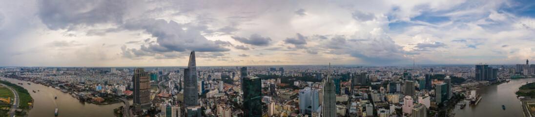 Ho Chi Minh Saigon Skyline Panorama