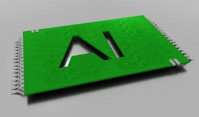 AI microchip