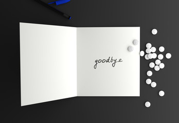 Suicide goodbye letter