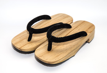 wooden Japanese sandals