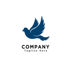 Flying bird logo