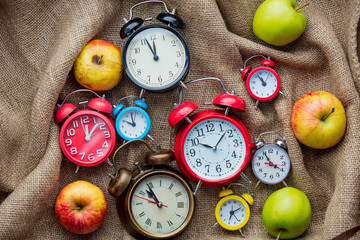 Apples and alarm clocks