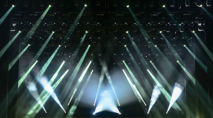 Whit concert  light