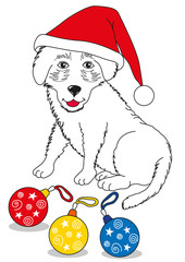 Buon Natale cagnolino