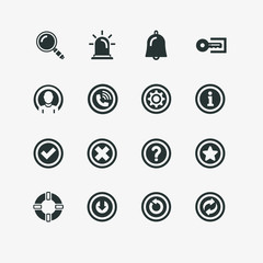 Basic Interface Icon Set