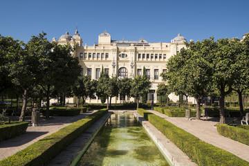 Ayuntamiento de Málaga. Andalucía. Spain.