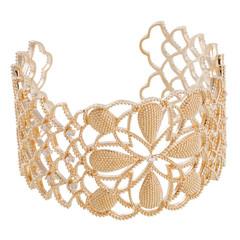 Jewelry bracelet isolated on white background