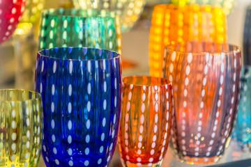 Famous Murano glass in Venice