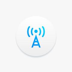 Radio Antenna Electric Icon