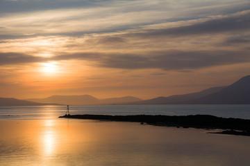 Sunset on Bantry Bay, the Wild Atlantic Way, Ireland