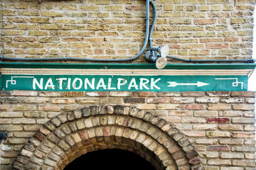 Schild 299 - Nationalpark