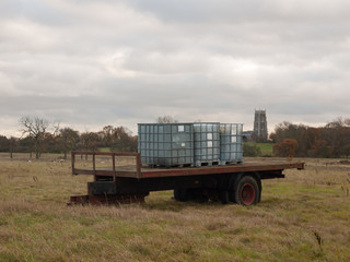 agriculture metal storage units trunk back field food