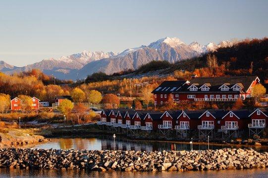 Stokmarknes, Norwegen