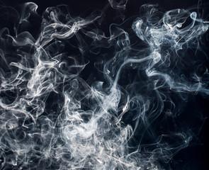 Texture closeup of smoke.