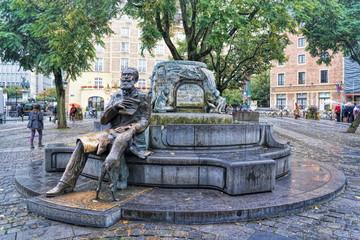 Brüssel, Fontaine Charles Buls