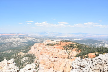 Rainbow Point at Bryce Canyon National Park in Utah
