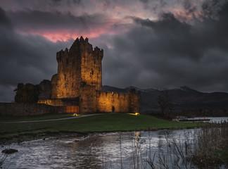 Ross Castle,Killarney National Park, County Kerry, Ireland.