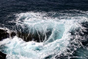 Beautiful Waves of the Atlantic Ocean