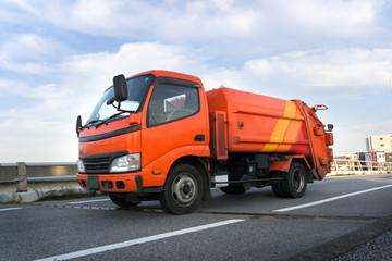 ゴミ収集車 清掃車