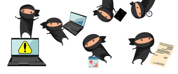 Ninja help in business