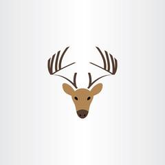 deer logo vector symbol icon