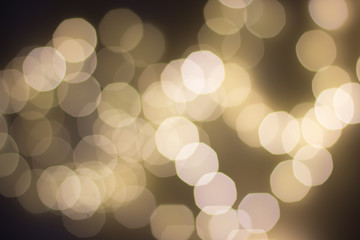 Festive Bokeh background.
