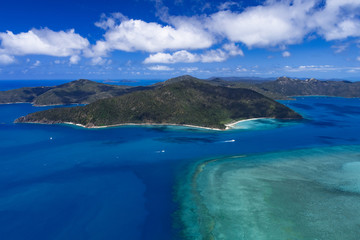 Übergang Whitsunday zum Great Barrier Reef