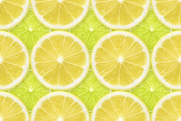 regular lemon over lime pattern