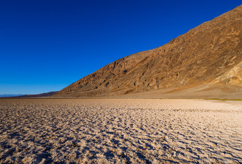 Badwater Salt lake at Death Valley California