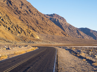 Death Valley National Park - desert road