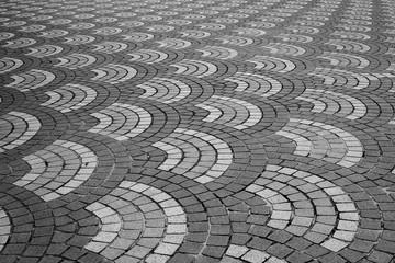 Patterns of floor tiles for background