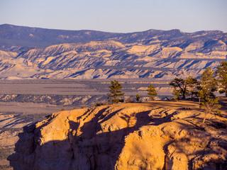 Wonderful Scenery at Bryce Canyon National Park in Utah