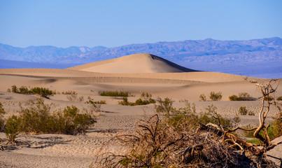 Sand Dunes at Death Valley National Park - Mesquite Flat Sand Dunes
