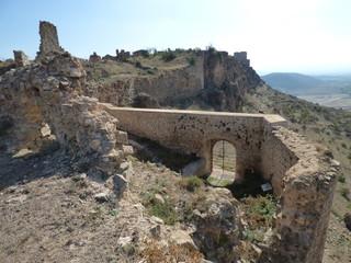 Villa de Moya en Cuenca. Pueblo historico en Castilla la Mancha ( España)